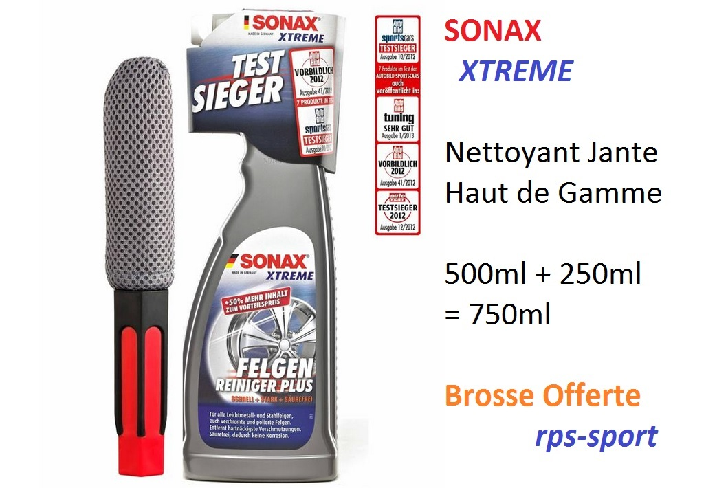 nettoyant jante alu sonax xtrem 750ml nissan navara d40 ebay. Black Bedroom Furniture Sets. Home Design Ideas