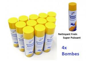 4x bombes nettoyant degraissant frein professionnel 500ml for Nettoyant pvc professionnel
